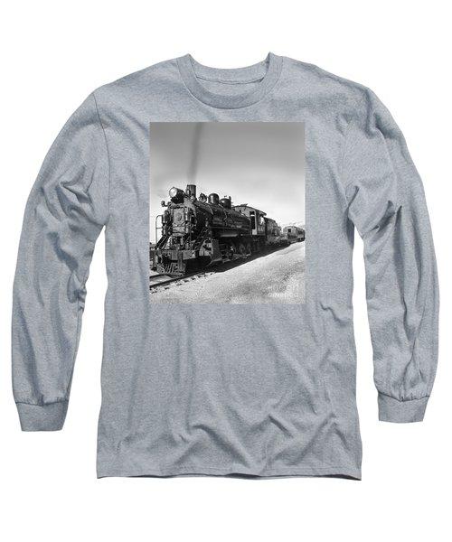 All Aboard Long Sleeve T-Shirt by Robert Bales