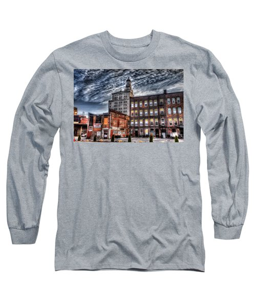 Long Sleeve T-Shirt featuring the photograph Alley View by Ray Congrove