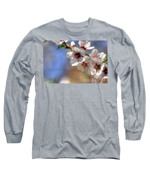 Long Sleeve T-Shirt featuring the photograph Almond Blossoms by Jim and Emily Bush