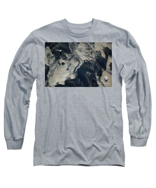 Long Sleeve T-Shirt featuring the photograph Alone Again by Christiane Hellner-OBrien