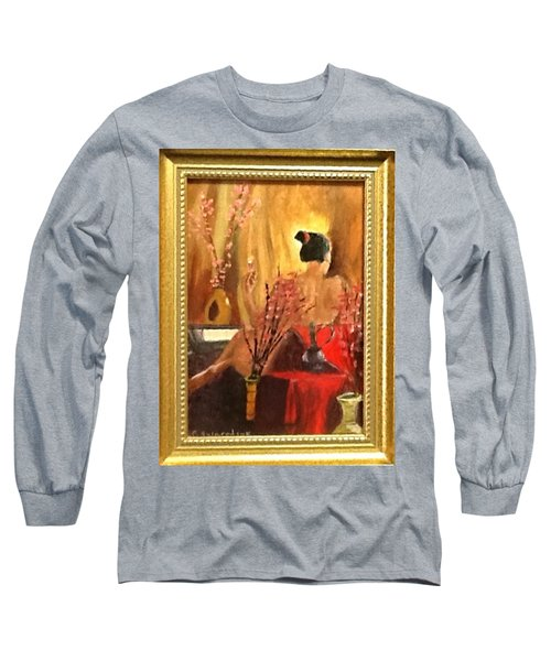 Alone Long Sleeve T-Shirt by Catherine Swerediuk
