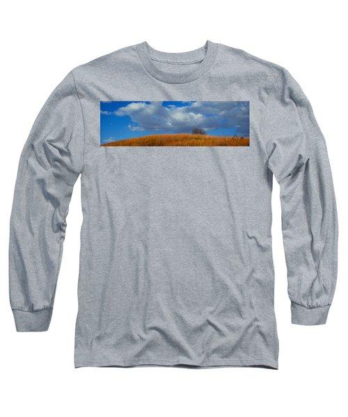 Along Big Bluestem Ridge Long Sleeve T-Shirt
