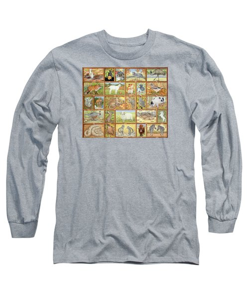 Alphabetical Animals Long Sleeve T-Shirt by Ditz