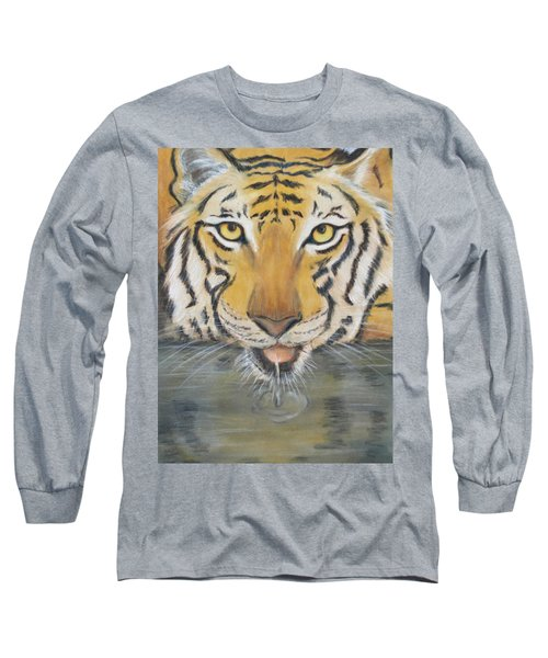 Always Watching  Long Sleeve T-Shirt by Patricia Olson