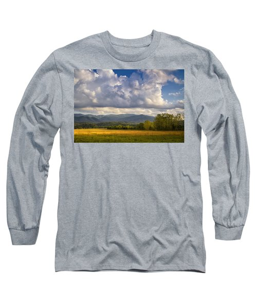 Long Sleeve T-Shirt featuring the photograph Amber Waves by Andrew Soundarajan
