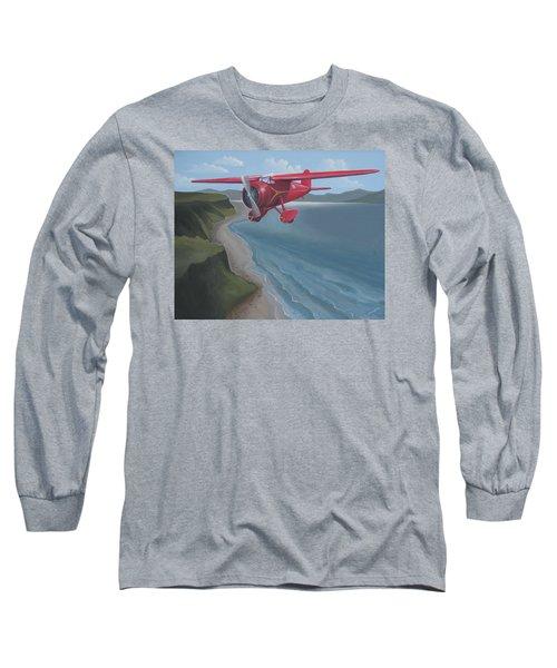 Amelia's Lockheed Vega Long Sleeve T-Shirt