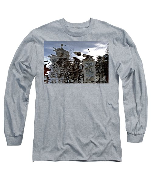 Long Sleeve T-Shirt featuring the photograph Amsterdam Reflections 2 by Andy Prendy