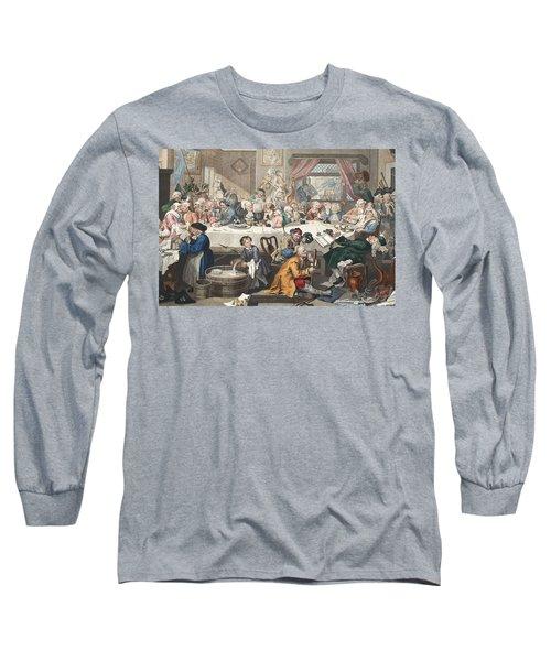 An Election Entertainment, Illustration Long Sleeve T-Shirt