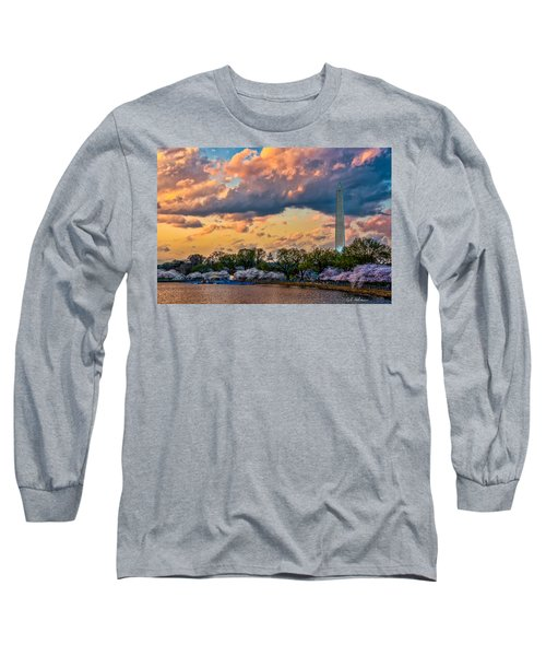 An Evening In Dc Long Sleeve T-Shirt by Christopher Holmes