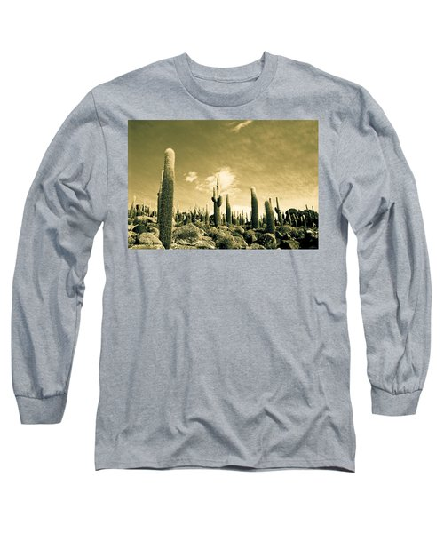 Ancient Giants Long Sleeve T-Shirt by Lana Enderle