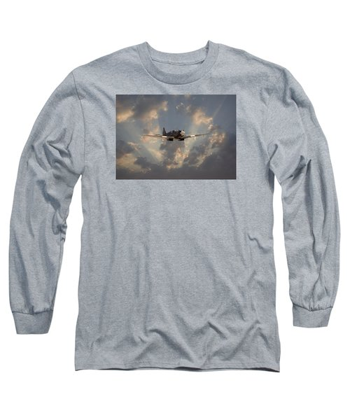 And Comes Safe Home Long Sleeve T-Shirt by Pat Speirs