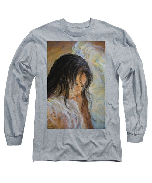 Angel Face Long Sleeve T-Shirt