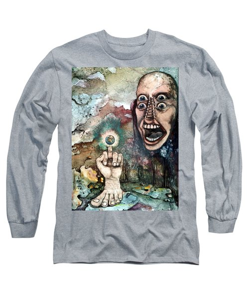 Anger Of Archon Long Sleeve T-Shirt by Mikhail Savchenko