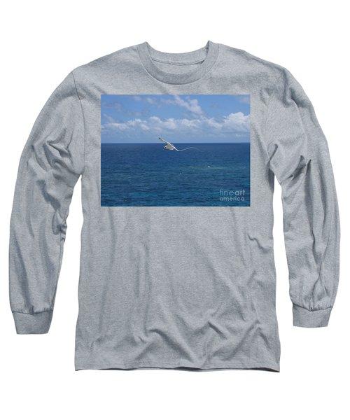 Antigua - In Flight Long Sleeve T-Shirt by HEVi FineArt