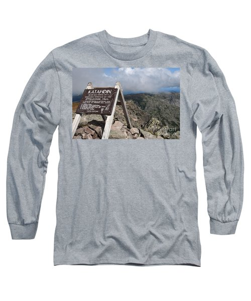 Appalachian Trail Mount Katahdin Long Sleeve T-Shirt