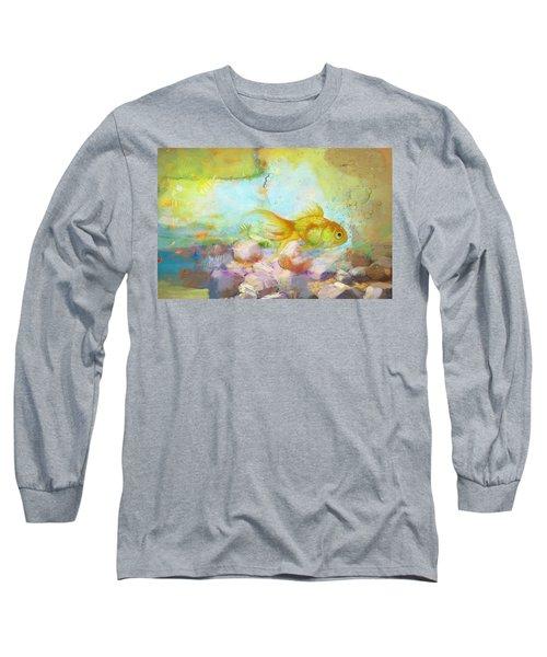 Aqua Goldilocks Long Sleeve T-Shirt