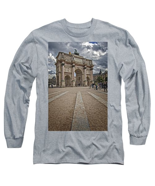 Arc De Triomphe Louvre  Long Sleeve T-Shirt