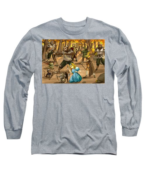 Archery In Oxboar Long Sleeve T-Shirt by Reynold Jay