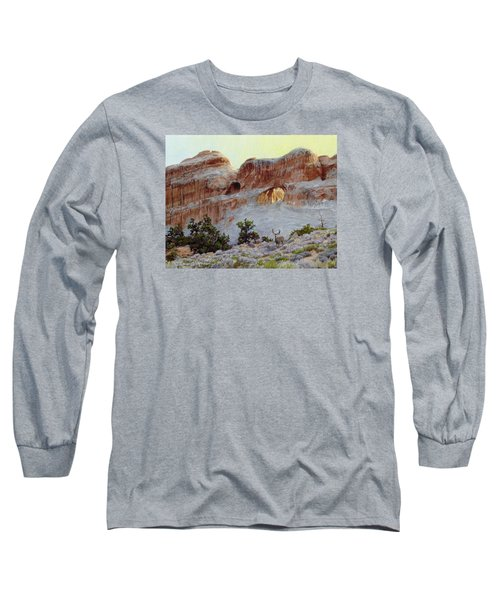 Arches Mulie Long Sleeve T-Shirt by Bruce Morrison