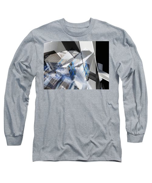 Architectural Abstract Long Sleeve T-Shirt