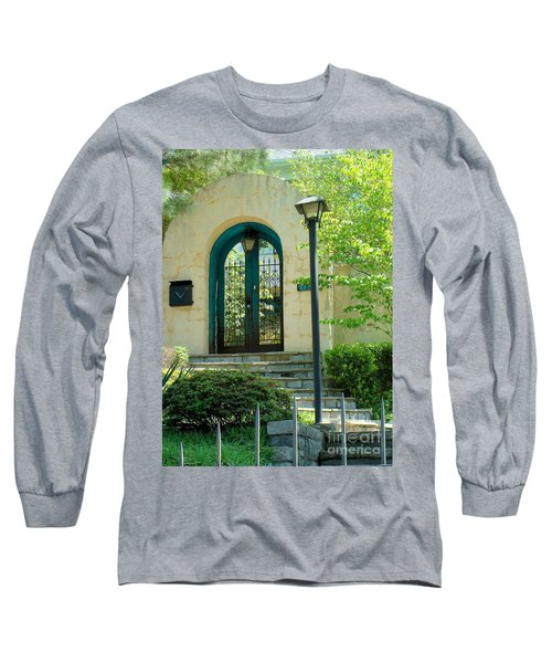 Archway In Swan Lake Long Sleeve T-Shirt