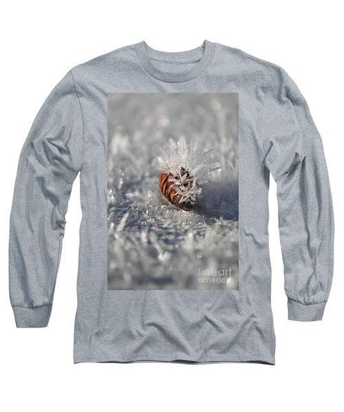 Arctic Pine Cone Porcupine Long Sleeve T-Shirt by Brian Boyle