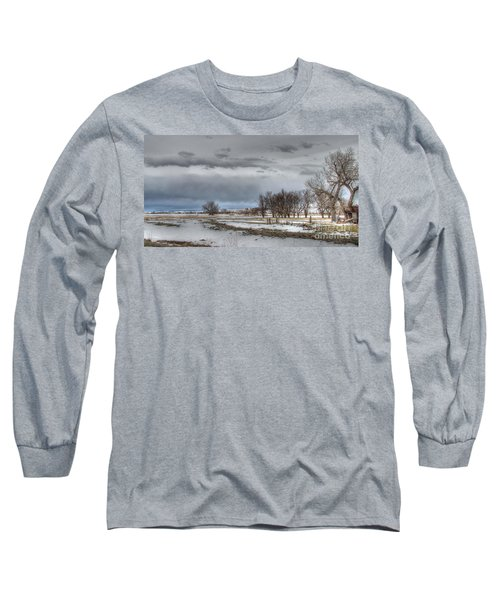 Long Sleeve T-Shirt featuring the photograph Ardmore Prairie by Bill Gabbert