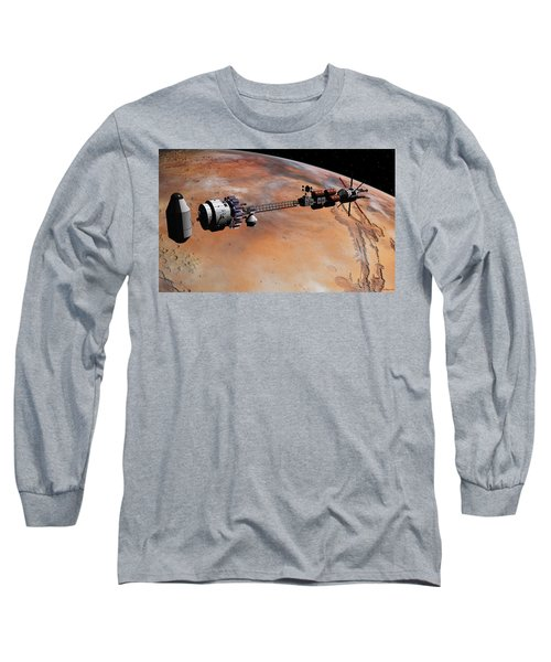 Ares1 Release Long Sleeve T-Shirt by David Robinson