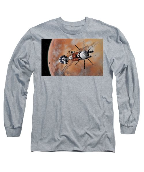 Ares1 Within Range For Rendezvous Long Sleeve T-Shirt