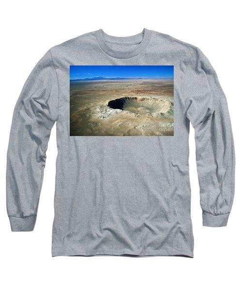 Arizona Meteor Crater Long Sleeve T-Shirt