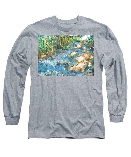 Arkansas Stream Long Sleeve T-Shirt