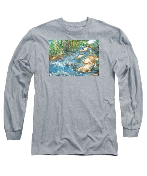 Arkansas Stream Long Sleeve T-Shirt