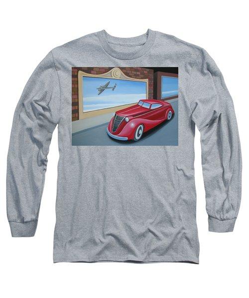 Art Deco Coupe Long Sleeve T-Shirt by Stuart Swartz