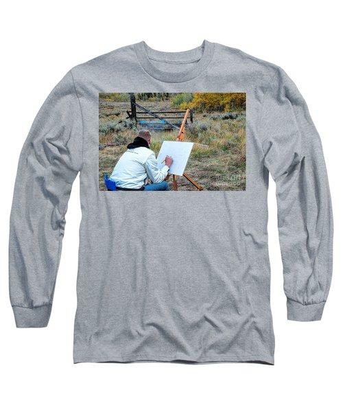 Artist Point Long Sleeve T-Shirt by Jim Garrison