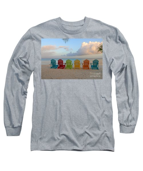 Aruba Sunrise 0746a Long Sleeve T-Shirt