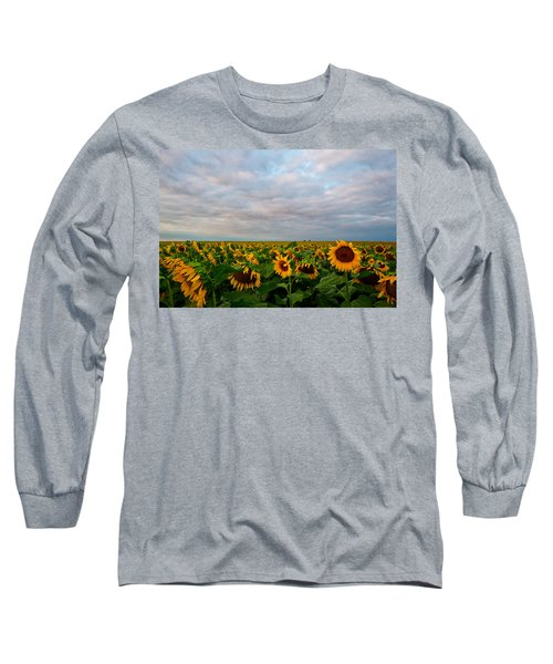 Long Sleeve T-Shirt featuring the photograph As Far As The Eye Can See by Ronda Kimbrow