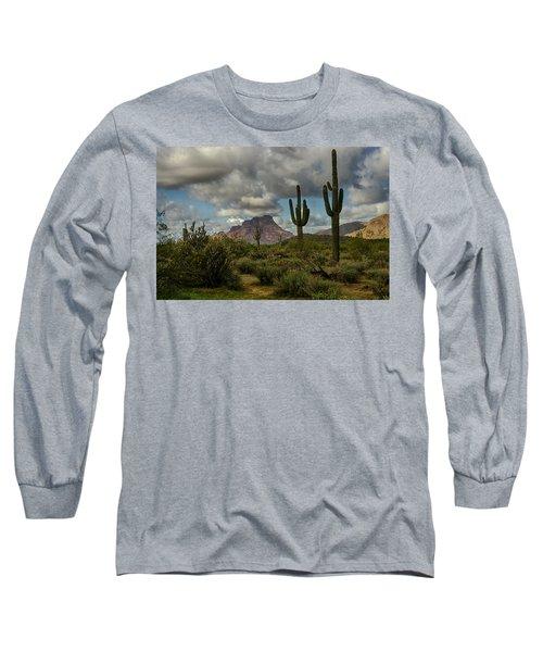 As The Clouds Pass By  Long Sleeve T-Shirt