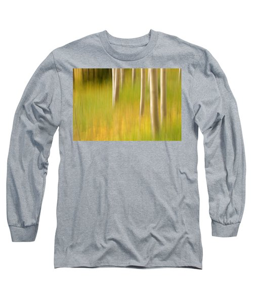 Aspen Abstract Long Sleeve T-Shirt by Ronda Kimbrow