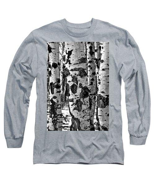 Long Sleeve T-Shirt featuring the photograph Aspen Art by Mae Wertz