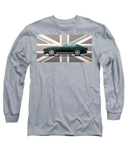 Aston Martin V8 Vantage Long Sleeve T-Shirt