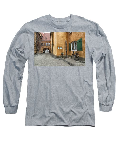 Long Sleeve T-Shirt featuring the photograph Augsburg Germany by Paul Fearn