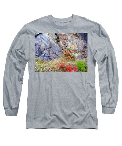 Autumn And Rocks Long Sleeve T-Shirt