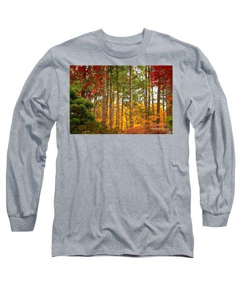 Autumn Canvas Long Sleeve T-Shirt
