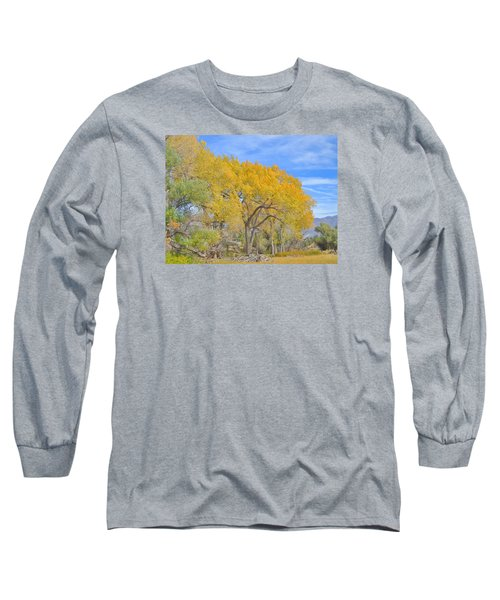 Long Sleeve T-Shirt featuring the photograph Autumn Colors by Marilyn Diaz