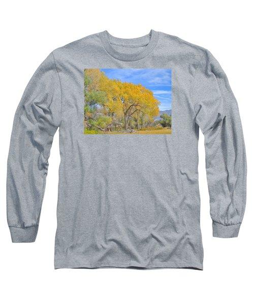 Autumn Colors Long Sleeve T-Shirt by Marilyn Diaz