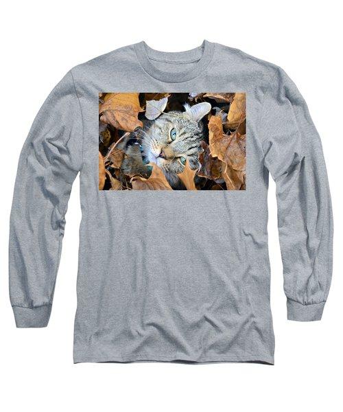 Autumn Fun Long Sleeve T-Shirt by Susan Leggett
