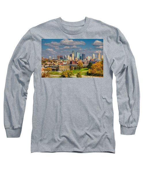 Autumn In Kansas City Long Sleeve T-Shirt