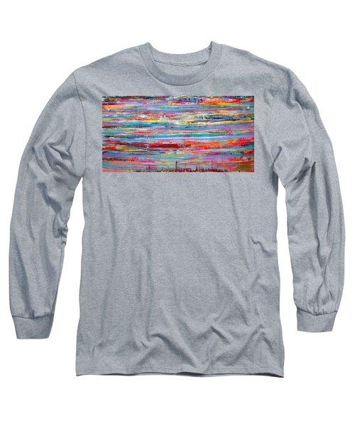 Autumn In Manhattan Long Sleeve T-Shirt