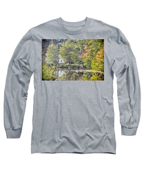 Autumn In Pastel Long Sleeve T-Shirt
