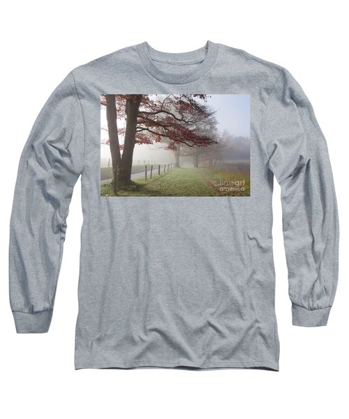 Autumn In The Cove IIi Long Sleeve T-Shirt by Douglas Stucky